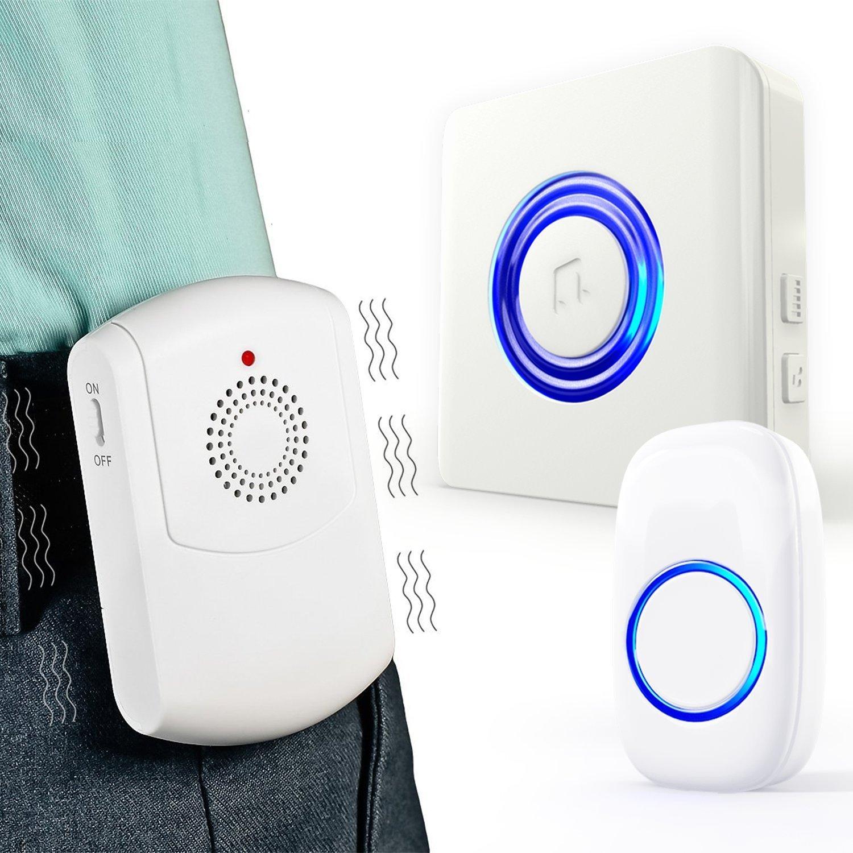 Wireless Vibration & Flashing Doorbell (3)