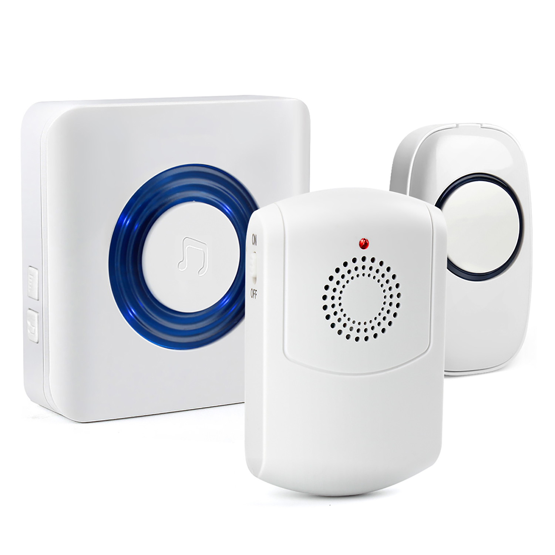 Wireless Vibration & Flashing Doorbell (4)